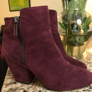 Super Cute 1 State Leather Upper Booties